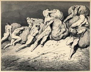 """Hoarders and Misers"" / Gustav Dore"