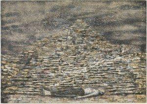 Man Under A Pyramid, 1996, Anselm Kiefer